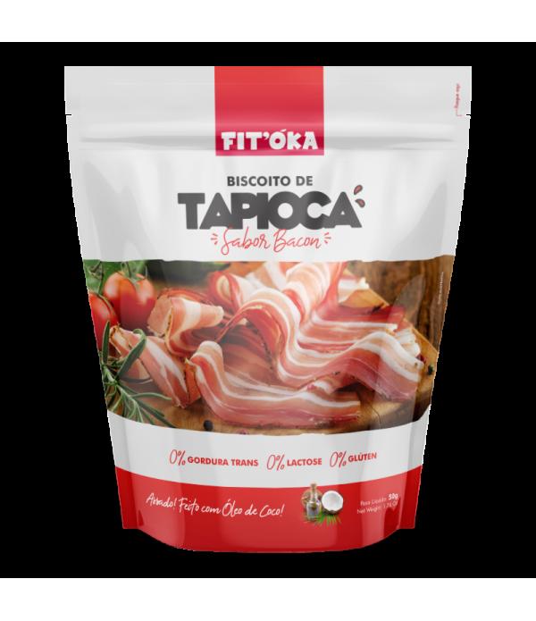 Biscoito de Tapioca - Sabor Bacon 50g