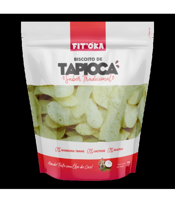 Biscoito de Tapioca - Sabor Tradicional  50g