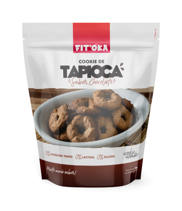 Cookie de Tapioca - Sabor Chocolate 50g