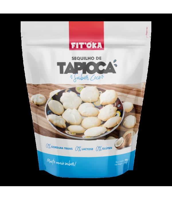 Sequilho de Tapioca - Sabor Coco 50g